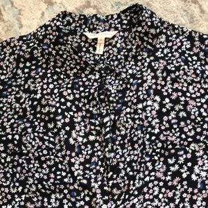 Rebecca Taylor size 2 button up sleeveless blouse